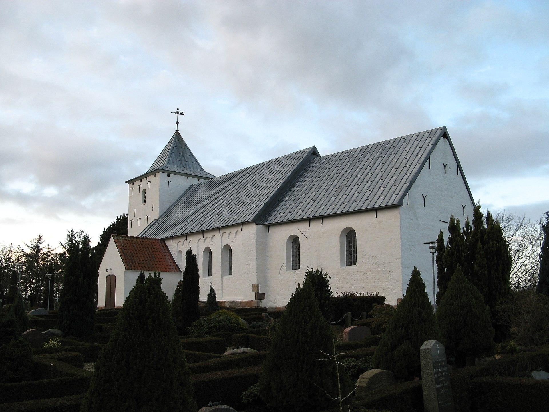 Hostrup Kirke (Esbjerg Kommune) - Wikipedia, den frie encyklopædi
