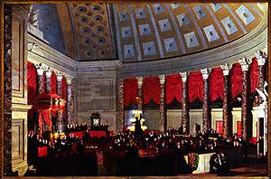 Doggett's Repository of Arts - Image: House of Representatives 1822 1823 by SFB Morse Corcoran