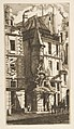 House with a Turret, rue de la Tixéranderie, Paris MET DP813113.jpg