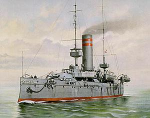 Evertsen-class coastal defence ship - Image: Hr. Ms. Evertsen (pantserschip)