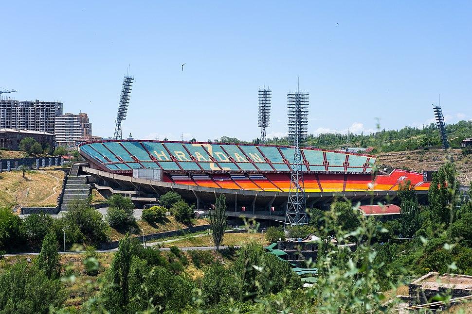 Hrazdan Stadium 2013, Yerevan
