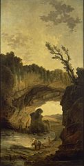 Landscape with an Arch in a Rock