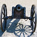 Hungarian gun from XVI century - Castle of Szigetvar.jpg