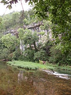 Hunter Creek (Bryant Creek tributary)