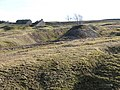 Hush, spoil heaps and ruins in former mining area - geograph.org.uk - 720725.jpg