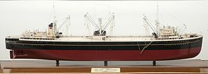 Sandefjord Museum - Image: Hvalkokeri Vikingen skipsmodell