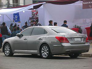 Hyundai Equus - Hyundai Equus GLS (Chile)