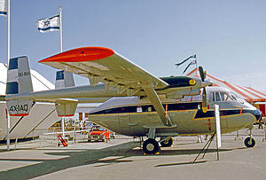 Air Force of El Salvador - IAI Arava 201 of the Salvadorean Air Force in 1975
