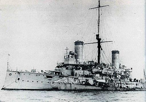 IJN Nisshin at Malta with U-boat