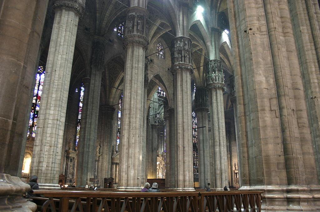 IMG 4594 - L'interno del Duomo di Milano. Foto di Giovanni Dall'Orto - 28-jan-2007.jpg