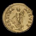 INC-1600-r Ауреус Веспасиан ок. 74 г. (реверс).png