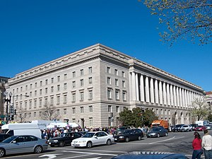 Internal Revenue Service Building on Constitut...