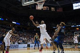 2016–17 Iowa State Cyclones men's basketball team - Vs. Nevada in NCAA Tournament