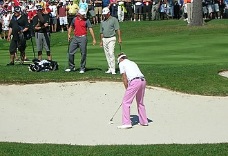 Ian Poulter - Ian Poulter at the 2009 Telus World Skins Game, Lévis, Canada