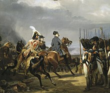 Napoleon reviewing the Imperial Guard before the Battle of Jena (Source: Wikimedia)