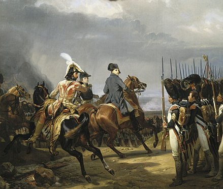 Napoleon reviews the Imperial Guard before the Battle of Jena, 1806 Iena.jpg