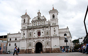 Tegucigalpa - Los Dolores Church, built 1735