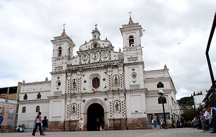 Los Dolores Church, built 1735 Iglesia Los Dolores Tegucigalpa.jpg