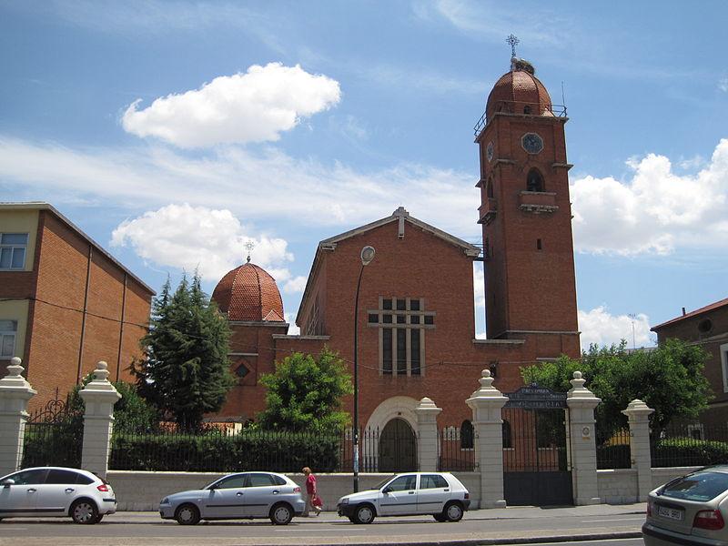 File:Iglesia Nuestra Señora del Carmen Valladolid.jpg