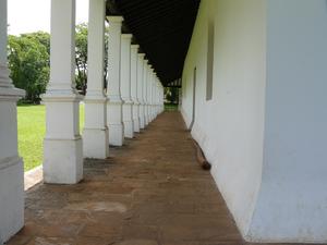 Yaguarón - Image: Iglesia Yaguaron corredor lateral
