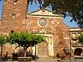 Iglesia de Prades Puerta Principal - panoramio.jpg