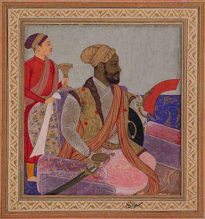 Chand Bibi - Ikhlas Khan chief minister of Ali Adil Shah of Bijapur