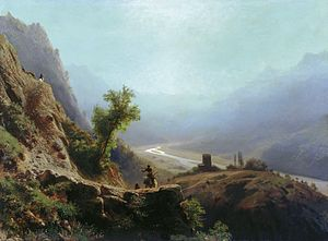 Lev Lagorio - Image: In The Cacasus Mountains