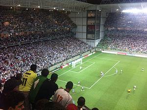 Estádio Independência - Image: Independência Atlético vs Arsenal