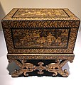 India Bareilly mid 19th C - chest of wood IMG 9497 Museum of Asian Civilisation.jpg