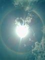 Infinite view of sun on bhadbhut mini kumbh mela 18-8-2012.jpg