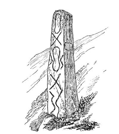 Inscribed Stone, Sticklepath A Book of Dartmoor.jpg
