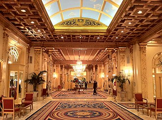 The Fairmont Copley Plaza Hotel - Peacock Alley