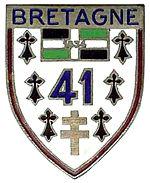 Insigne régimentaire du 41e régiment d'infanterie