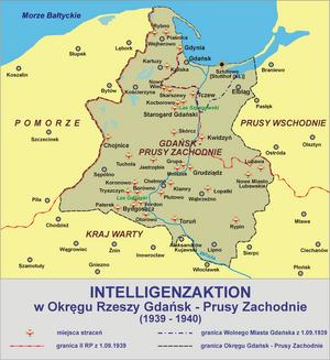 Valley of Death (Bydgoszcz) - Image: Intelligenzaktion prusy zachodnie