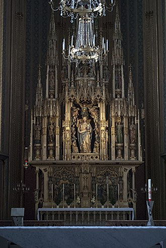 Augustinian Church, Vienna - Image: Interior of Augustinian Church, Vienna 3