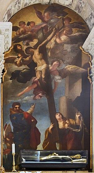 Pietro Liberi - Crucifixion and Madeleine Santi Giovanni e Paolo, Venice