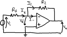 Inverting voltage amplifier.png