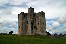 Trim Castle, home to Geoffrey de Geneville