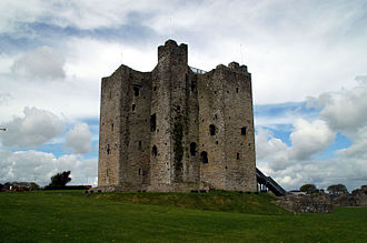 Hugh de Lacy, Lord of Meath - The keep of Trim Castle