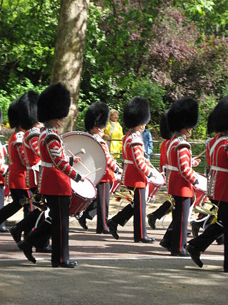 Band of the Irish Guards - Corps of Drums, Irish Guards
