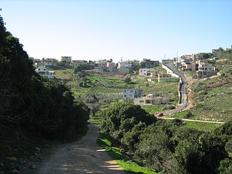 Isfiya - The outskirts of Isfiya