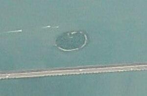 Isola di San Secondo - Image: Isola di San Secondo venice from the air