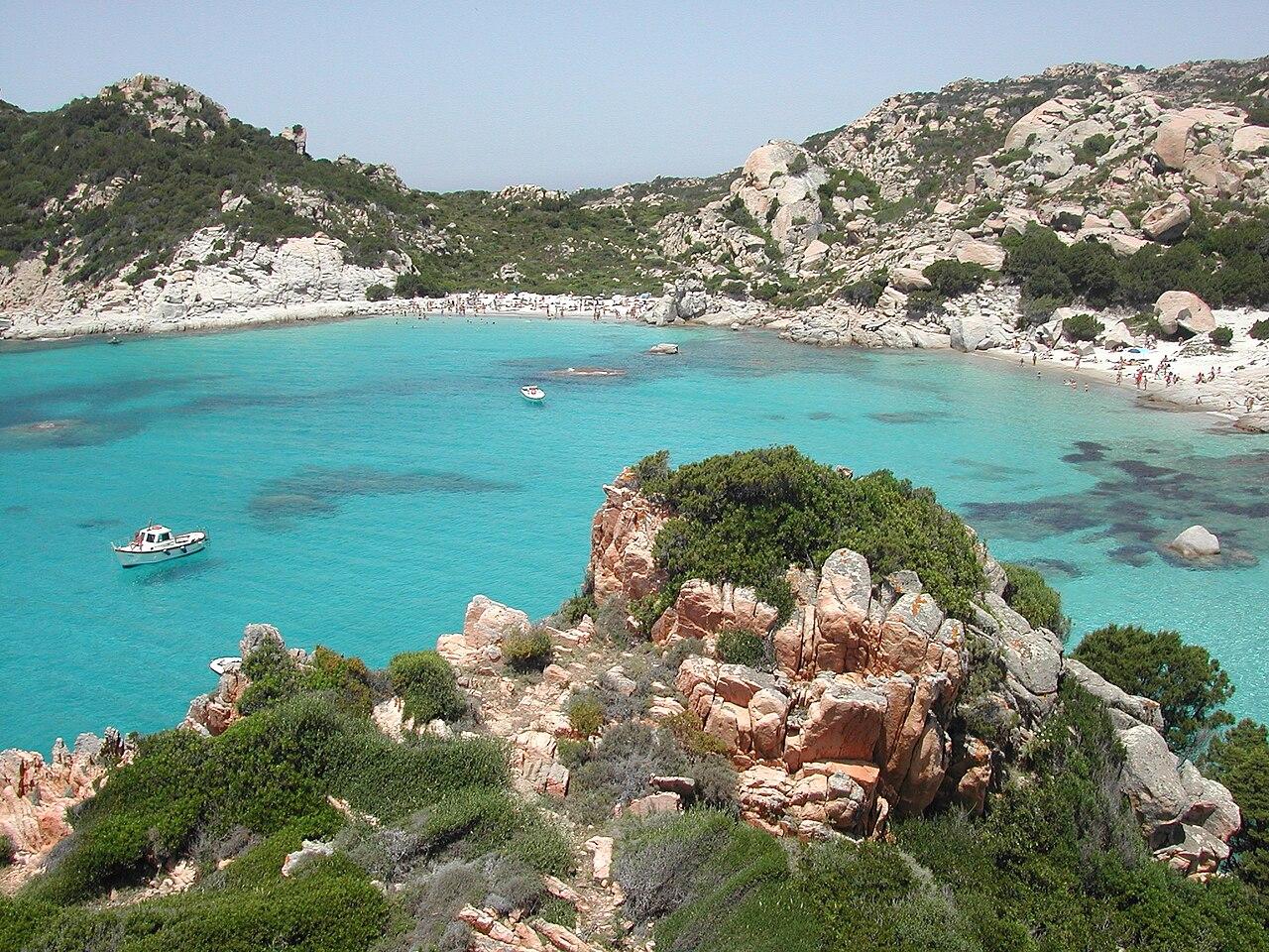 Isola di Spargi, Arcipelago della Maddalena