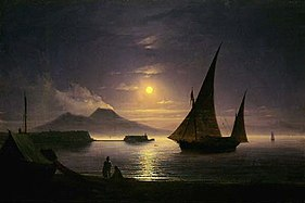 Ivan Aivazovsky Bucht von Neapel 1842