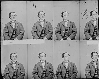 Junius Brutus Booth Jr. - Booth in the early 1860s