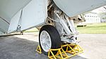 JMSDF US-1A(9076) nose landing gear right front view at Kanoya Naval Air Base Museum April 29, 2017.jpg