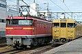 JNR EF67-100 JNR 115 series yellow(14292087685).jpg