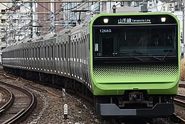 JR East E235-0 Series No.13 Ebisu Sta.jpg
