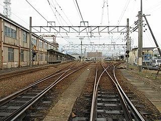 Matsuyama Station (Ehime) Railway station in Matsuyama, Ehime Prefecture, Japan