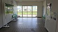 JR Sekihoku-Main-Line Tanno Station Waiting room.jpg